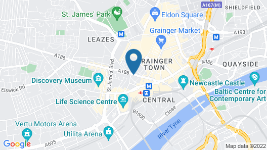 The County Aparthotel Map