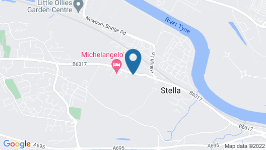 Hedgefield House Hotel Map