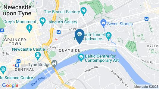 Dream Apartments Quayside Map