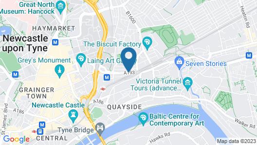 The NewBridge Hotel Map
