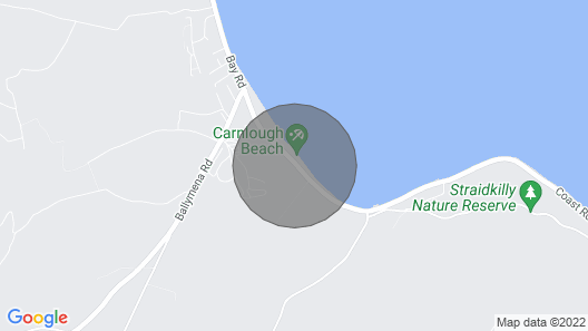 Pet Friendly Seaside Self-Catering Map