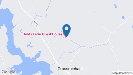 Airds Farm B & B Map
