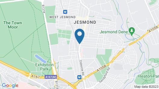Osborne Hotel Map