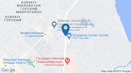 Gorskiy City Hotel Map