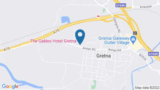 The Gables Hotel Map