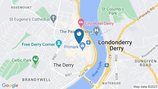 Shipquay Boutique Hotel Map
