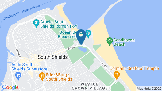 The Sea Hotel, Sure Hotel Collection by Best Western Map