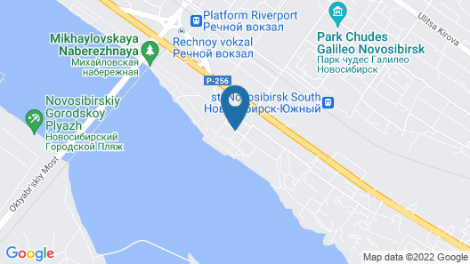 River Park Hotel Map