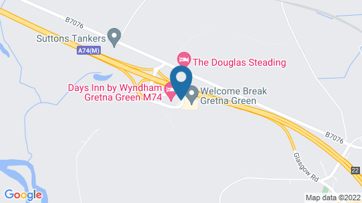 Days Inn by Wyndham Gretna Green M74 Map