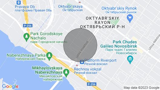 River Beach VIP Apart Map