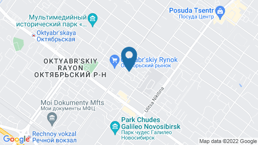 AHOTELS design style on Tolstogo Map