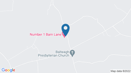 Number One Barn Lane Map