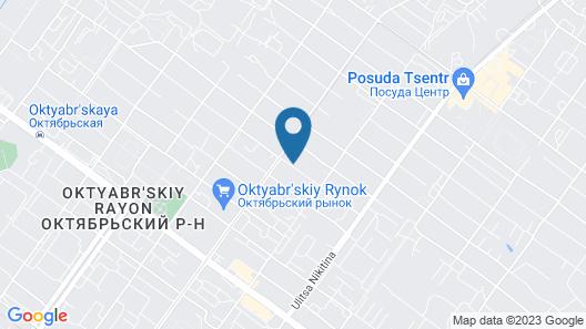 Uyutnaya Hotel Map