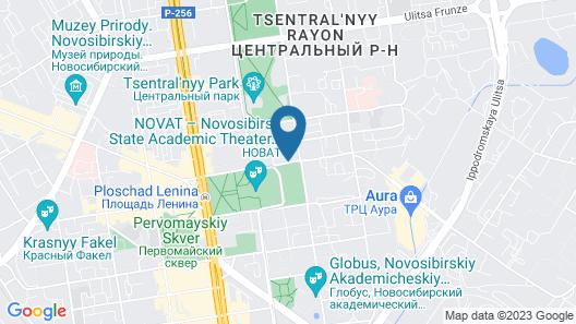 Novosibirsk Marriott Hotel Map
