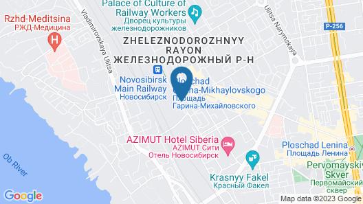 Park Inn By Radisson Novosibirsk Map