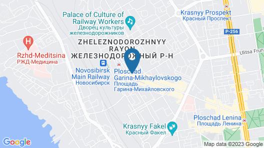Marins Park Novosibirsk Map