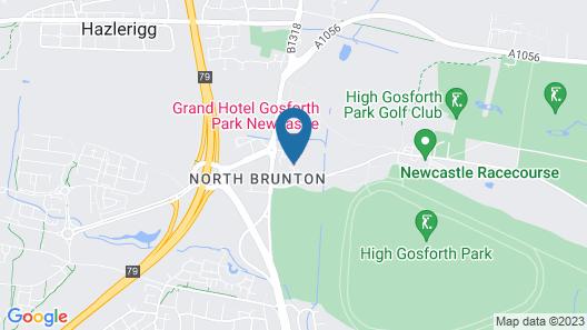 Grand Hotel Gosforth Park Map