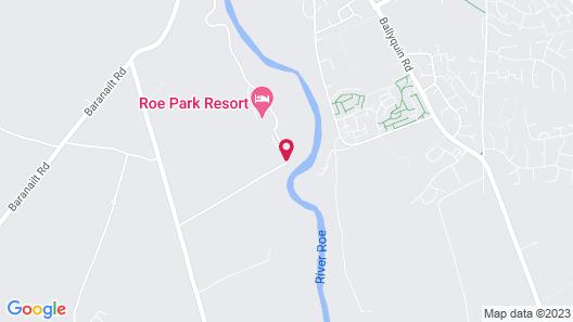 Roe Park Resort Map