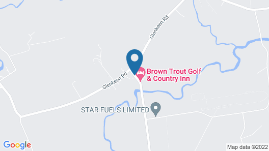 Brown Trout Golf & Country Inn Map