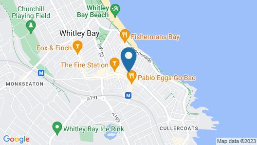 Stay Coastal Map
