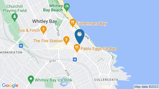 Oaktree Lodge Map