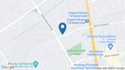Gostinic.net Map