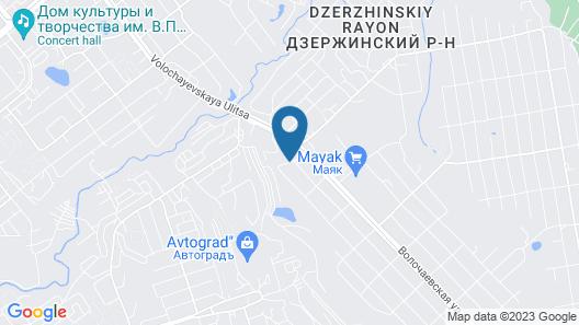 Hotel Anturage Map