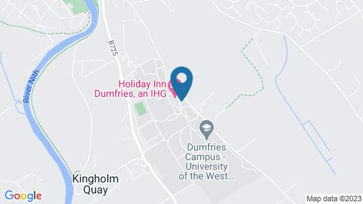 Holiday Inn Dumfries Map