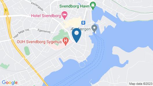Svendborg Rooms Map