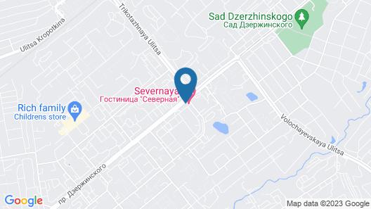 Severnaya Hotel Map