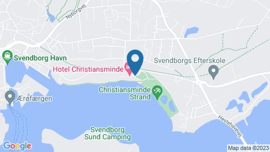 Hotel Christiansminde Map