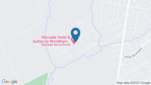 Ramada Hotel & Suites by Wyndham Novosibirsk Zhukovka Map