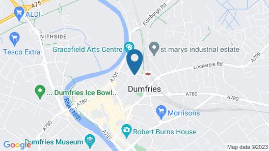 Dumfries Villa Map