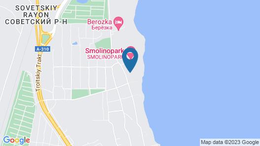 Smolinopark Hotel Map