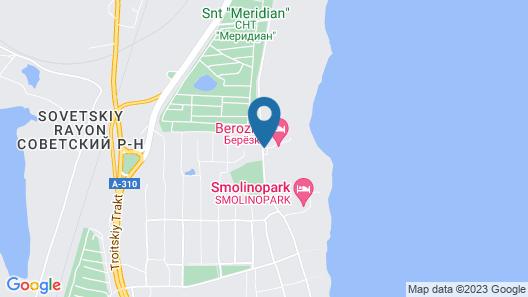 Berezka Hotel Map