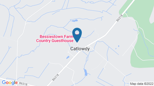 Bessiestown Country Guesthouse Map