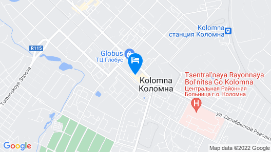 Kolomna Hotel Map