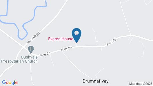 Evaron House Map