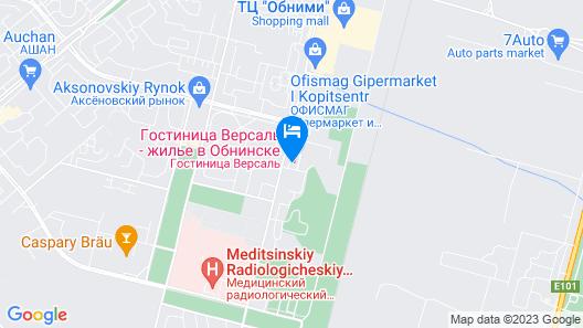 Versailles Hotel Map