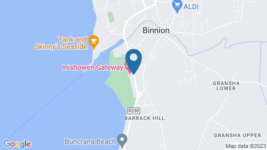 Inishowen Gateway Hotel Map