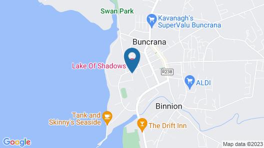 Lake Of Shadows Hotel Map