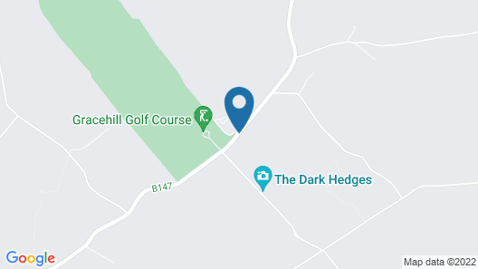 The Hedges Hotel Map