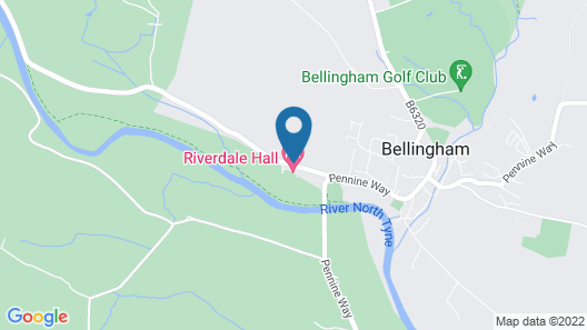 Riverdale Hall Hotel Map