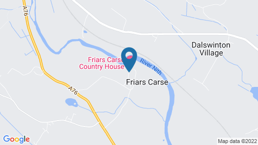 Friars Carse Country House Hotel Map