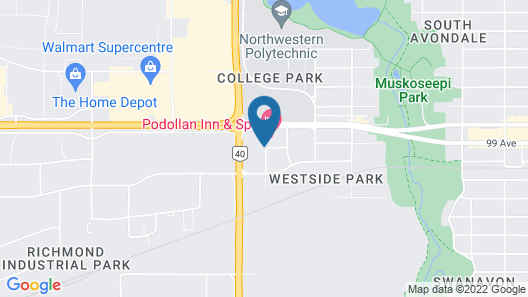 Holiday Inn & Suites Grande Prairie Conference Center, an IHG Hotel Map