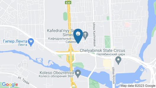 Riverside Spa Apartments Map