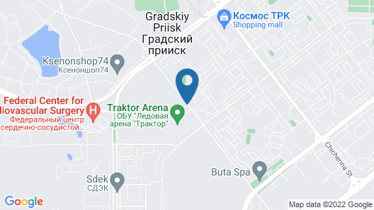 Meliot Spa Hotel Map