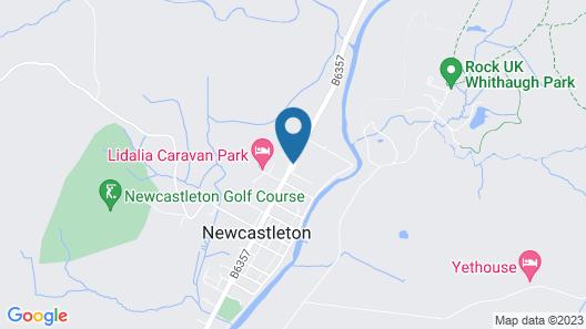 Black Burn Lodge Map