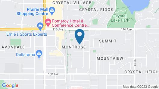 Cozy, Comfy Suite Basement Near Prairie Mall Map
