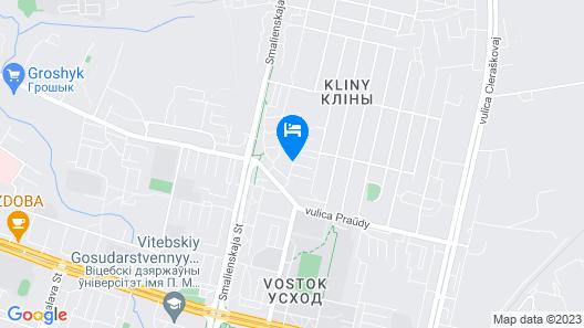 Apartment in Vitebsk Tower Map